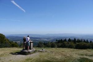 Celtic settlement of Bibracte at Mont Beuvray