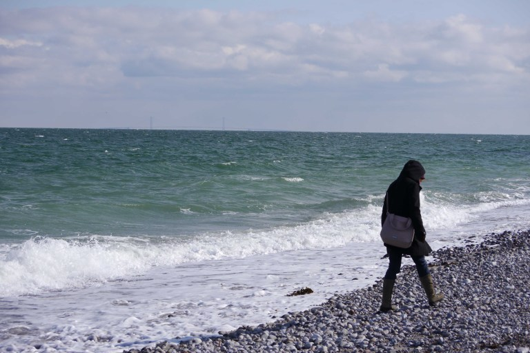 Woman At The Beach 1