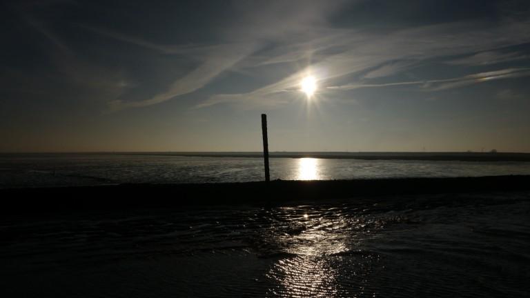North Sea Coast in Autumn