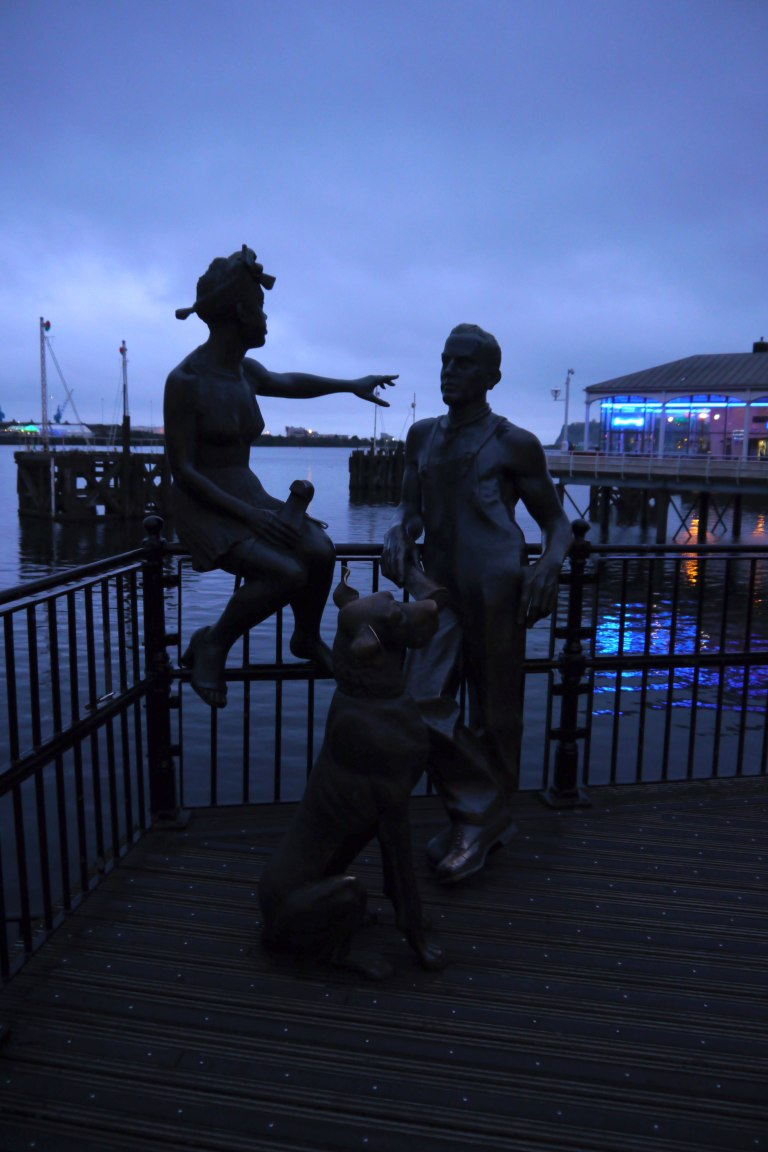 Evening Cardiff Bay