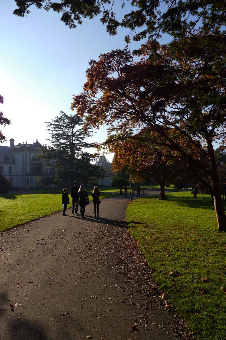 Dyffryn Gardens in Autumn