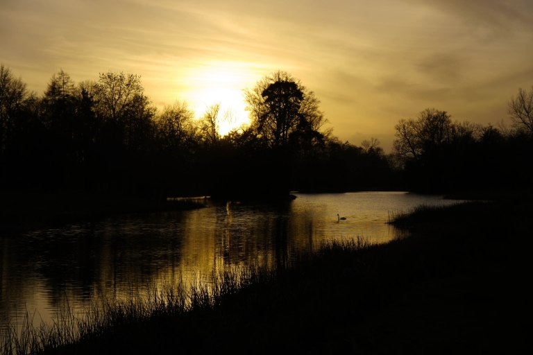 Stowe Landscape Garden Sunset 2